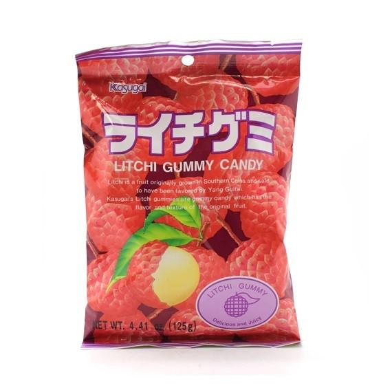 Bonbons mous au lychée KASUGAI 102g - mon panier d'asie