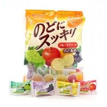 Bonbons durs aux fruits KASUGAI 135g
