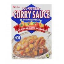 Curry végétarien instantané fort HOUSE 210g