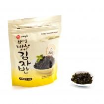 Snack croustillant feuille d'algue séchée Saveur BBQ SEMPIO 50g