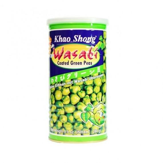 Pois au wasabi pour apéritif KHAO SHONG 280g - mon panier d'asie
