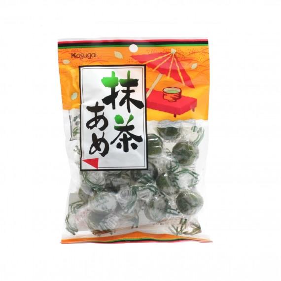 Bonbons durs au thé vert saveur Matcha KASUGAI 135g - mon panier d'aise