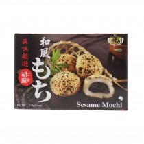Mochi Gâteau Mou au sésame ROYAL FAMILY 210g - mon panier d'asie