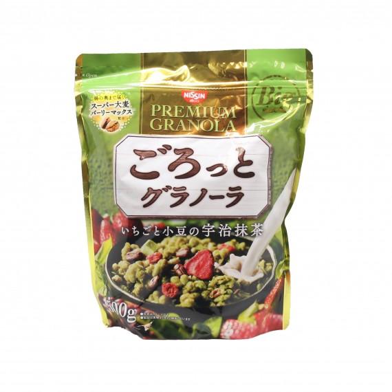 Céréales UJI matcha NISSIN 500g - mon panier d'asie