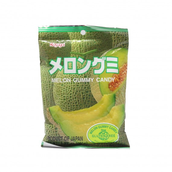 Bonbons mous au melon KASUGAI 102g - mon panier d'asie