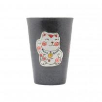 Mug motif chat porte-bonheur - mon panier d'asie