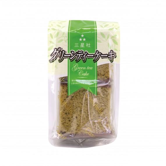 Castella Gâteau Japonais au thé vert matcha 4 Pièces - mon panier d'asie