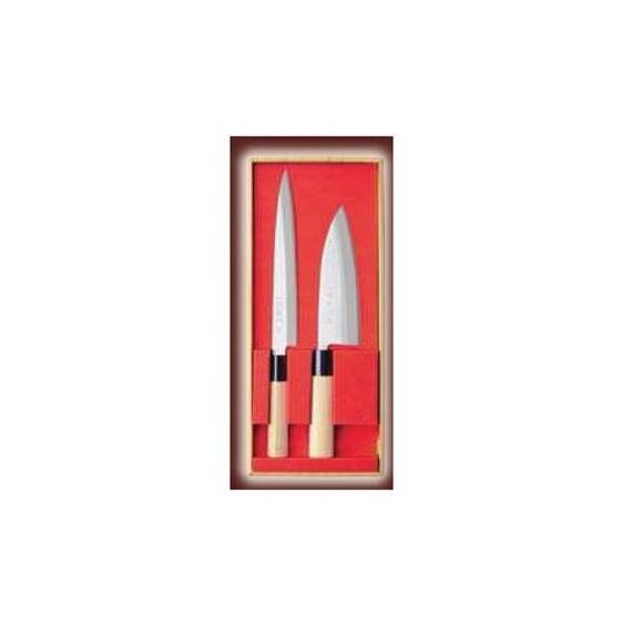 Coffret de 2 couteaux japonais
