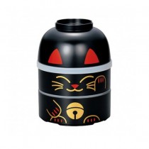 BENTO MOTIF CHAT NOIR 440ML