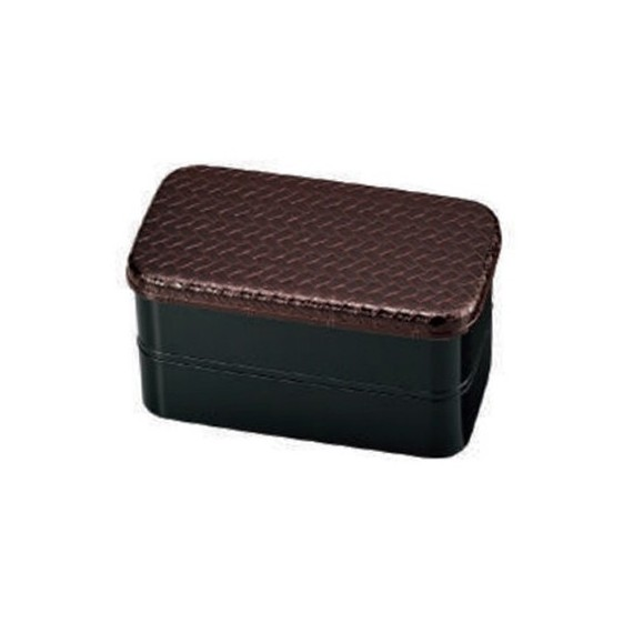Bento couleur unie brun 700ml