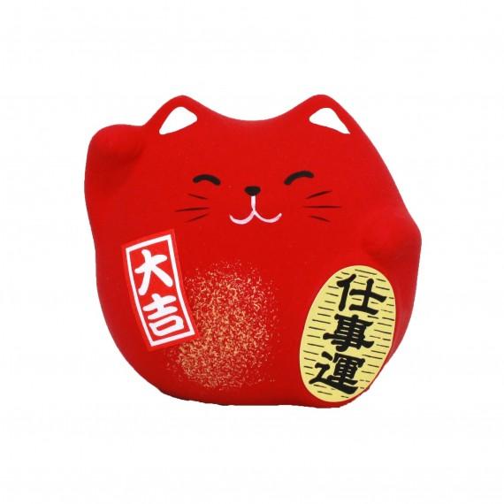 Porte-bonheur Chat rouge - mon panier d'asie