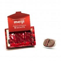 Biscuits Chocolat rich fraise MEIJI 99g