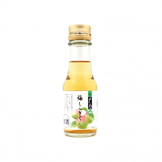 Boisson spiritueuse à la prune verte Shiragiku 8% 100ml - mon panier d'asie