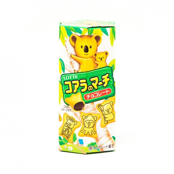 Koala no march Biscuits chocolat LOTTE 50g - mon panier d'asie