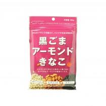 Poudre de soja au sésame noir et aux amendes KINAKO 90g
