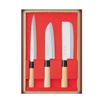Coffret de 3 couteaux japonais