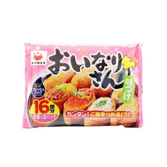 Poche de soja frit assaisonnée Misuzu 270g - mon panier d'asie