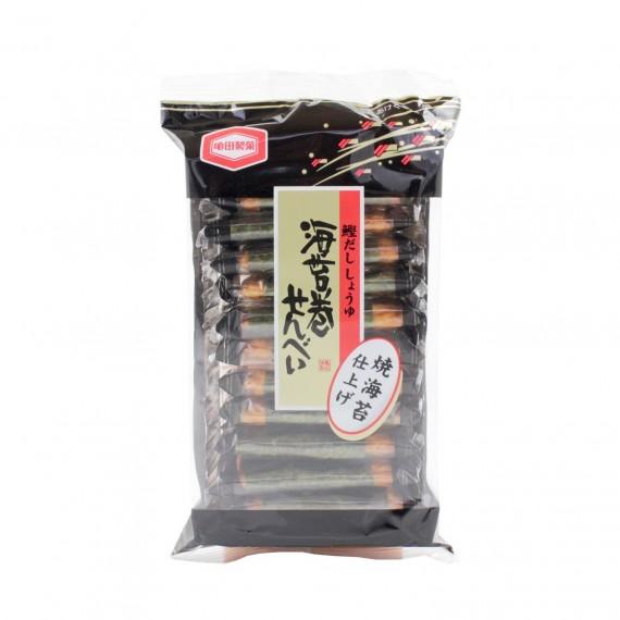 Galette de riz aux algues Nori Senbei KAMEDA 55.55g - mon panier d'asie