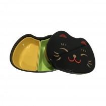 Boîte à bento Visage chat noir 500ml