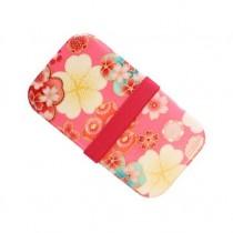 Boîte à bento rose motif fleurs 500ml