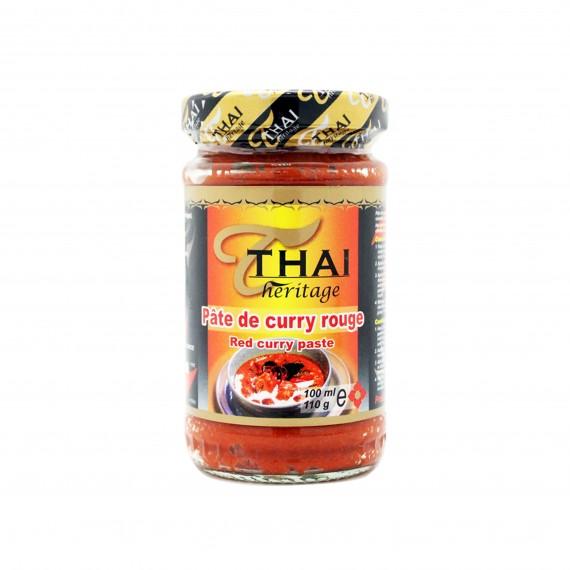 Pâte de curry rouge 110g - mon panier d'asie