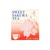 Thé noir avec fleurs de cerisier sucrés JAPAN GREENTEA 20g - mon panier d'asie
