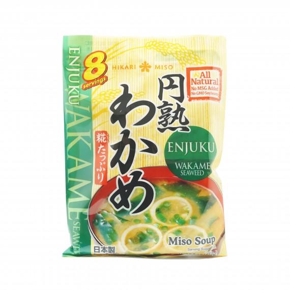 Soupe miso au wakame HIKARI 150.4g - mon panier d'asie