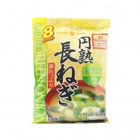 Soupe Miso aux poireaux HIKARI 150.4g - mon panier d'asie