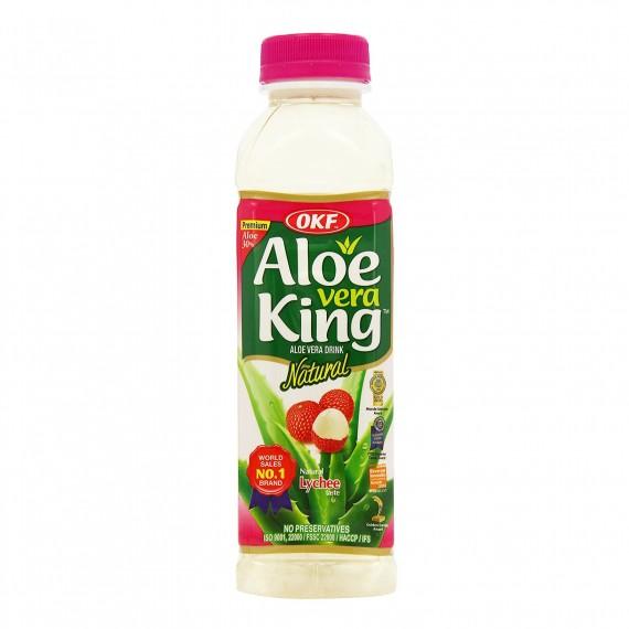 Boisson à l'Aloe Vera Lychée OKF 500ML - mon panier d'asie