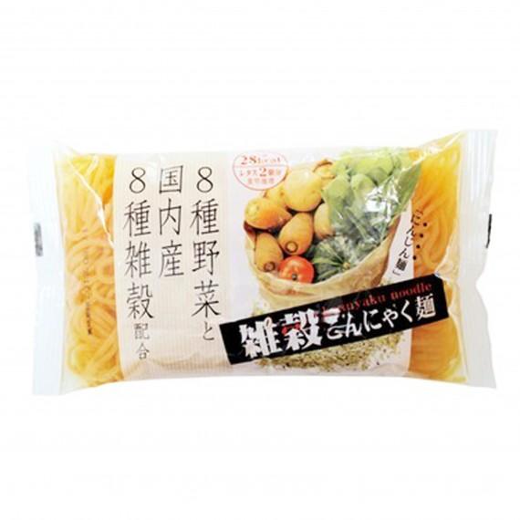 Konjac en vermicelle saveur carotte ISHIBASHIYA 200g - mon panier d'asie