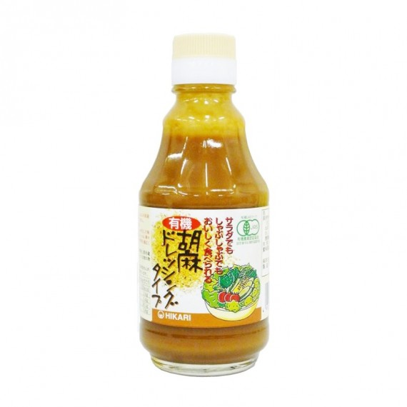 Sauce au sésame BIO pour salade HIKARI 225g - mon panier d'asie