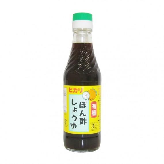Sauce ponzu BIO HIKARI 250ml - mon panier d'asie