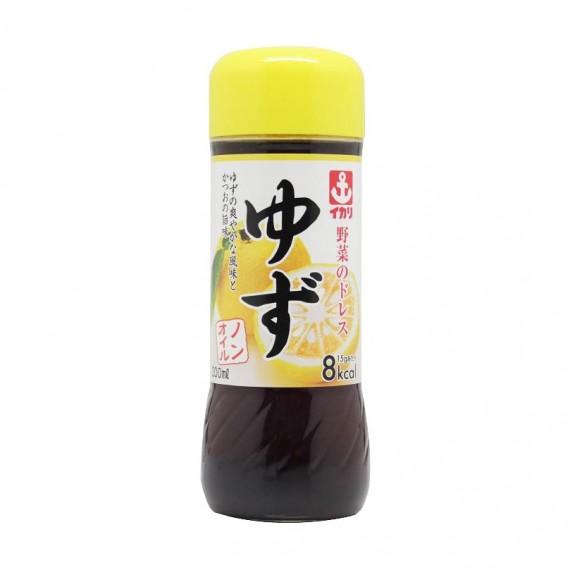 Sauce Salade Au Yuzu Sans Huile IKARI 200ml - mon panier d'asie