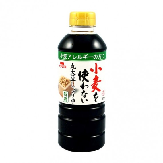 Sauce soja sans gluten ICHIBIKI 500ml - mon panier d'asie