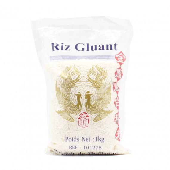 Riz gluant thaï OISEAUX CELESTE 1kg - mon panier d'asie