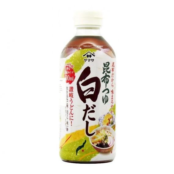Bouillon tsuyu à la sauce soja Shiro Dashi YAMASA 500ml - mon panier d'asie
