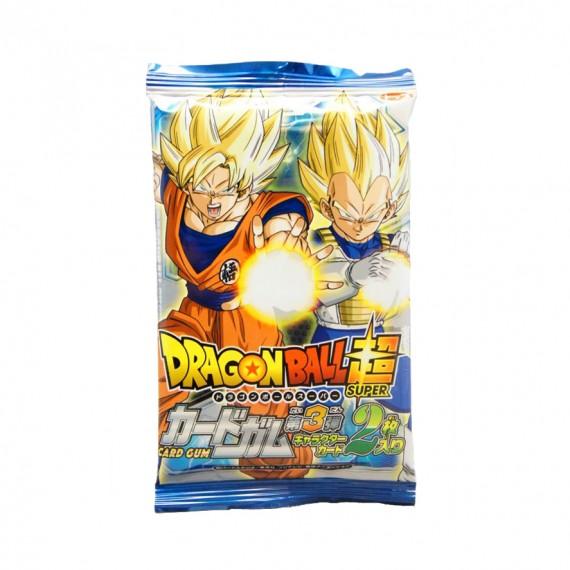 Dragon Ball Super Card & Chewing Gum TOP SEIKA 10g - mon panier d'asie