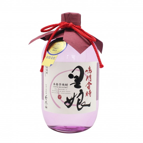 Shochu spiritueux Sato Musume NISSIN 25% 720ml - mon panier d'asie