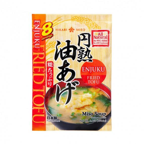 Soupe Miso Au Tofu Frit HIKARI 150.4g - mon panier d'asie