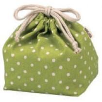 Pochette Bento KINCYAKU GREEN (DOT)