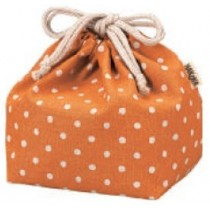 Pochette Bento KINCYAKU ORANGE (DOT)