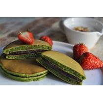 Dorayaki Pancake Japonais fourré au thé vert 300g