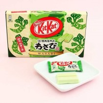 kitkat édition limitée au Wasabi 10 minis kitkat 105g