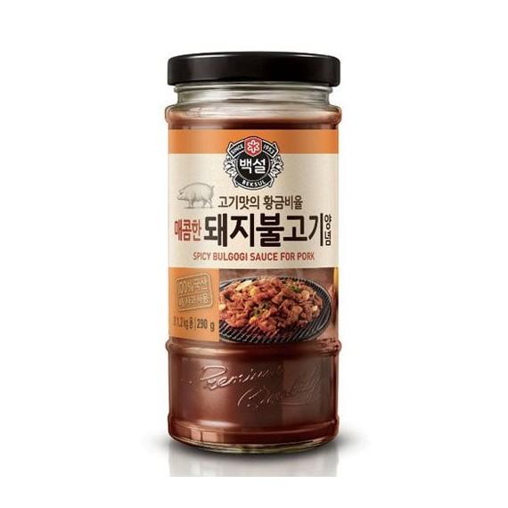 Sauce Bulgogi pour Porc epicée CJ kr 290g