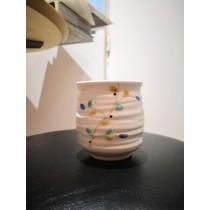 Tasse à thé motif fleur