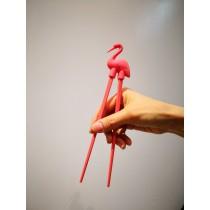 Baguettes pour débutants flamant rose