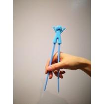 baguette pour débutants petit bonhomme bleu