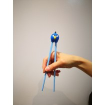 baguette pour débutants angry bird bleu