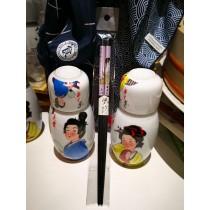 baguette motif femme japonaise