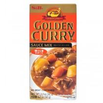Pâte de curry doux S&B 92g